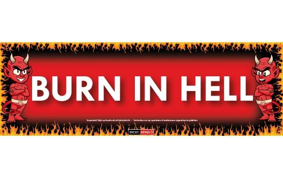Sticky Devil Burn in hell