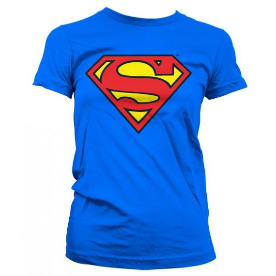 Superman logo t shirt dames Superman T shirts