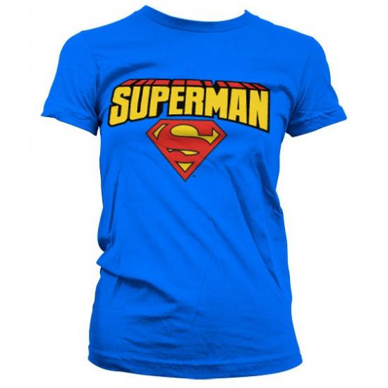 Superman Superman T shirt dames T shirts