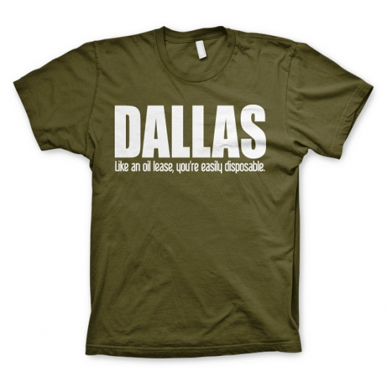 T shirt Dallas logo Bellatio Beste koop