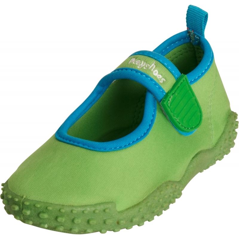 Schoenen en laarzen Playshoes UV waterschoenen groen voor kinderen