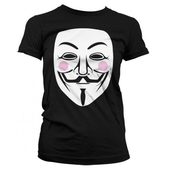 T shirts Bellatio V for Vendetta t shirt dames
