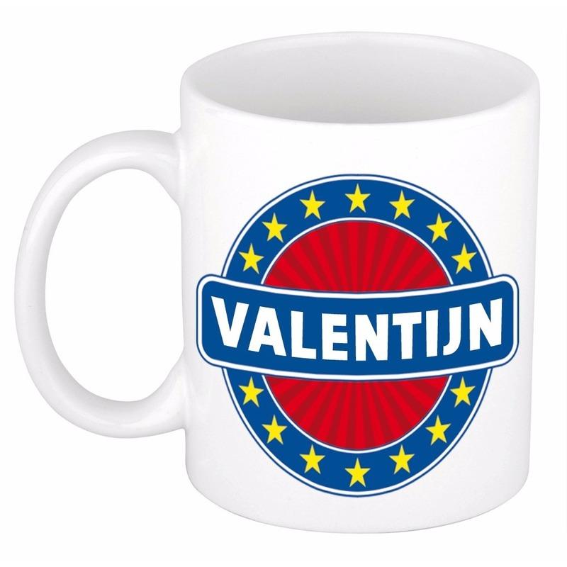Valentijn naam koffie mok / beker 300 ml