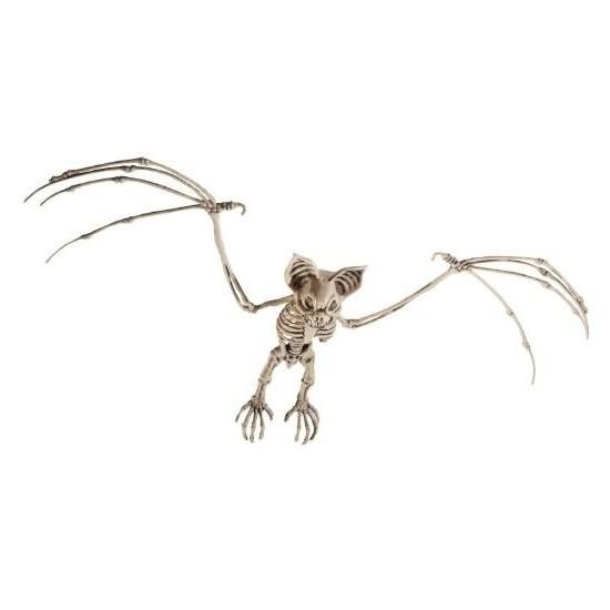 Vleermuis skelet halloween/horror decoratie 72 cm