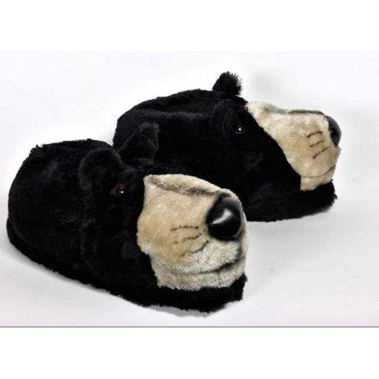 Sloffen en Pantoffels Volwassenen dieren sloffen beer