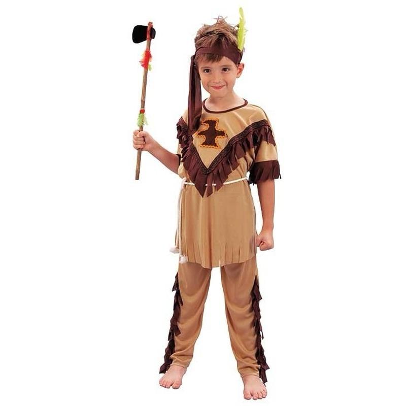 Voordelig indianen kostuum voor kinderen
