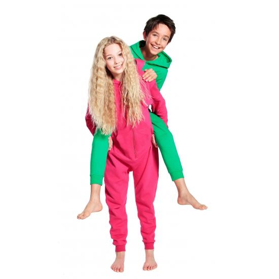 Bellatio Warme onesie jumpsuit voor kinderen Overige kleding