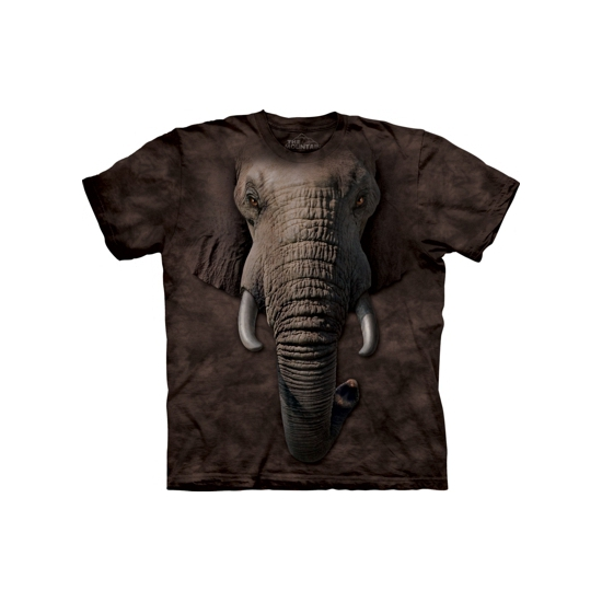 Wilde dieren T shirt olifant The Mountain T shirts en poloshirts