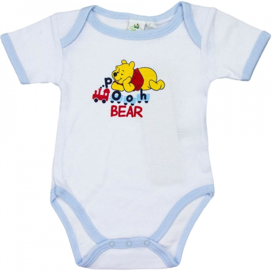 Overige kleding Disney Winnie de Pooh rompertje wit lichtblauw