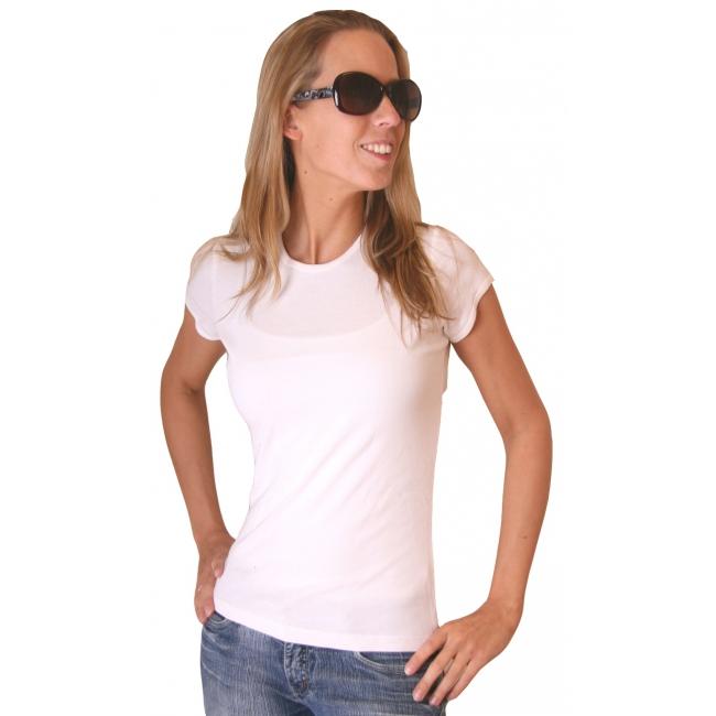 Wit dames t shirt Bella Bella beste