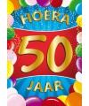 50 jaar mega deurposter