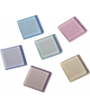 Acryl mozaiek steentjes pastel