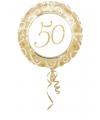Folie ballon 50 goud