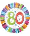 Folie ballon 80 jaar