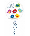 Folie ballon afscheid 43 cm