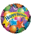 Folie ballon Happy Birthday