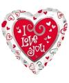 Folie ballon I Love You