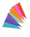 Gekleurde vlaggenlijn van papier