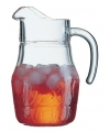 Glazen schenkkan 1,3 liter