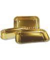 Gouden schalen 3 stuks