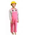 Luxe roze tuinbroek voor kinderen