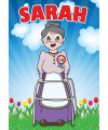 Mega poster Sarah