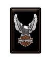 Muurplaatje Harley Davidson eagle