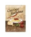 Muurplaatje Italiaanse pasta