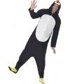 Onesie pinguin voor volwassenen