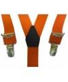 Oranje bretels voor jongens