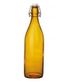 Oranje giara fles met beugeldop