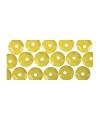 Pailletten geel 500 stuks