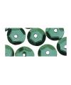Pailletten groen 500 stuks