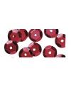 Pailletten rood 500 stuks