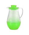 Plastic schenkkan met koelfunctie groen