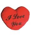 Pluche I Love You kussen 60 cm