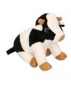 Pluche knuffel koe 25 cm