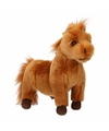 Pluche Shetland pony bruin 36 cm