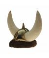 Pluche vikinghelm met hoorns