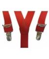 Rode bretels voor jongens