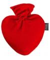 Rode hart kruik met hoes