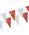 Vlaggenlijn rood/wit