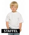 Voordelige witte kinder t-shirts