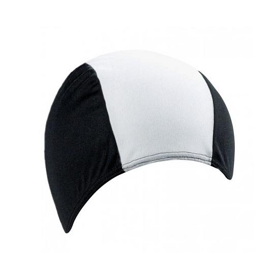 Badmuts zwart met wit