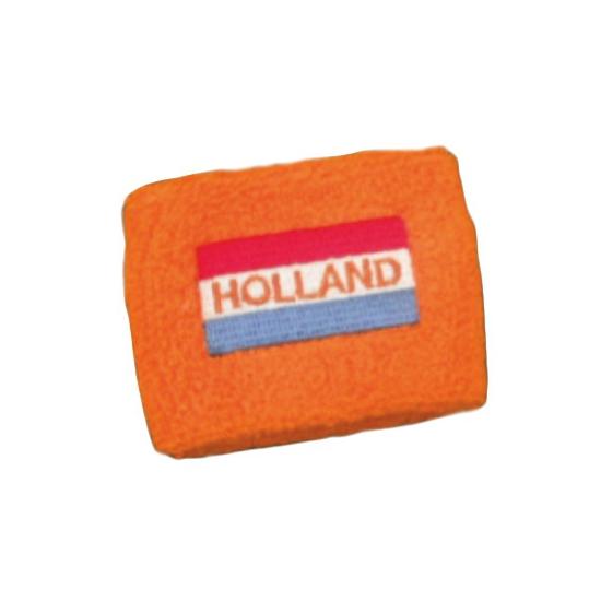 wk polsbandje vlag en holland geborduurd