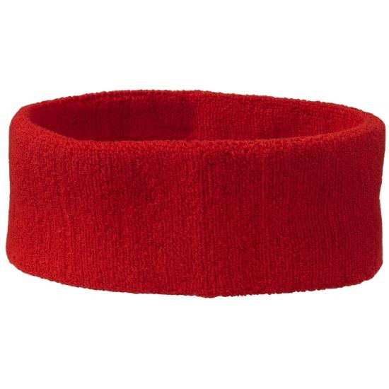toppers 2014 hoofd zweetbandje rood