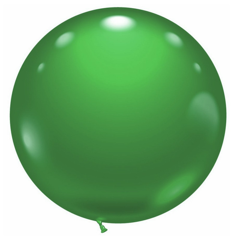1 super grote groene ballon Groen