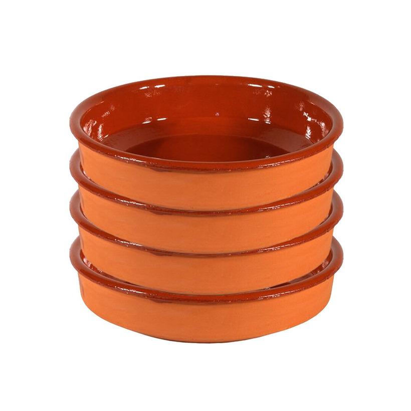 10x Mini tapas bakjes/schaaltjes Sevilla 10 cm