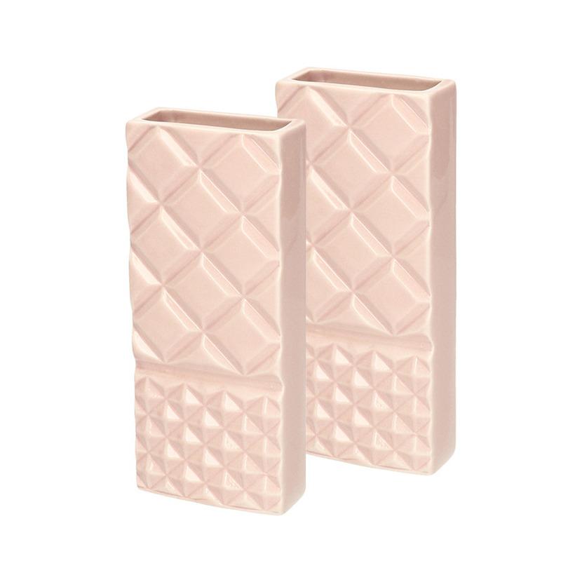 10x Radiator bak luchtbevochtigers - waterverdampers rechthoekig Liara oud roze 18 cm