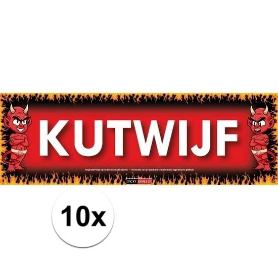 10x Sticky Devil Kutwijf